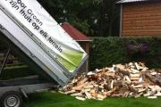 Boomstronken uitfrezen door Passie voor Groen